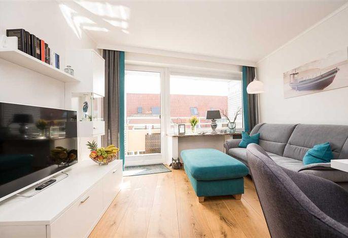 Moderner und heller Wohnraum in der Wohnung 15 Beach Life in der Friedrichstr. 40, in Westerland