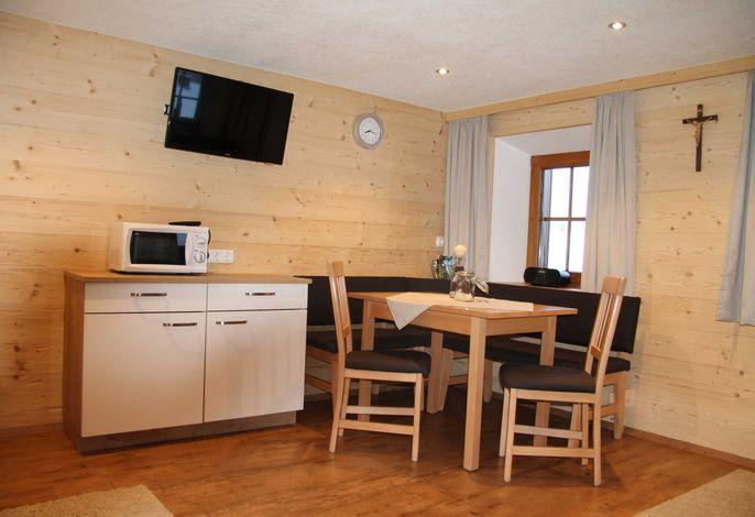Innerkratzerhof Ferienwohnung Großvenediger Wohnzimmer