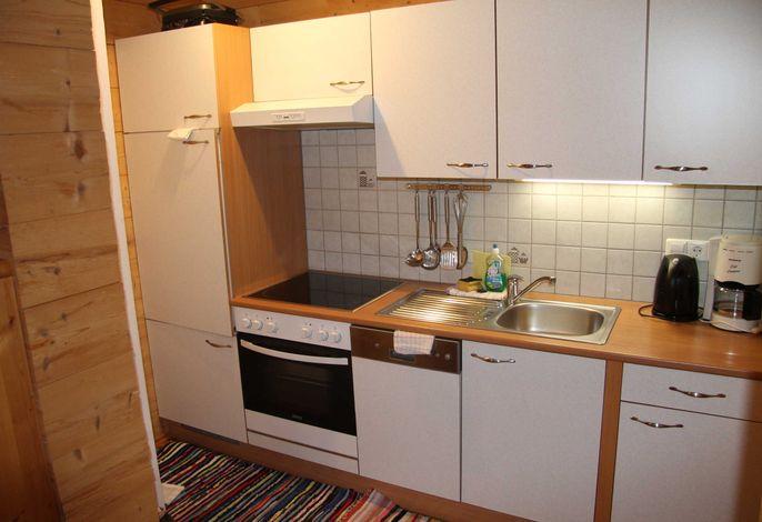 Innerkratzerhof Ferienwohnung Enzian Küchenblock