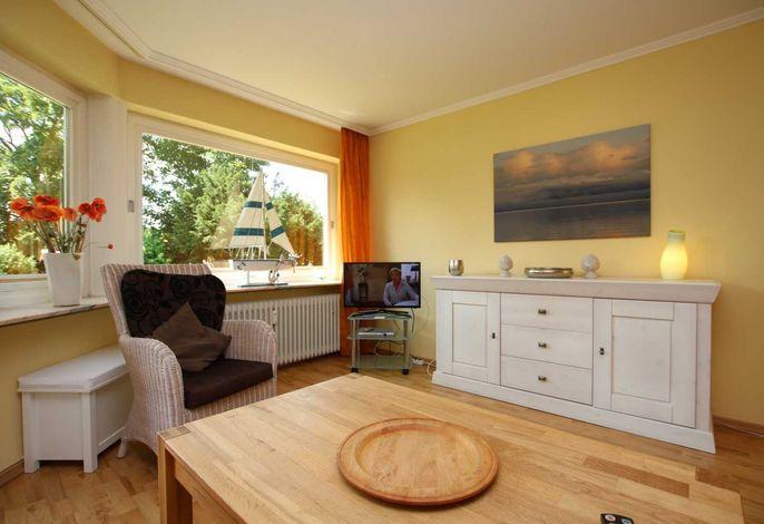 Wohnzimmer mit LCD/TV