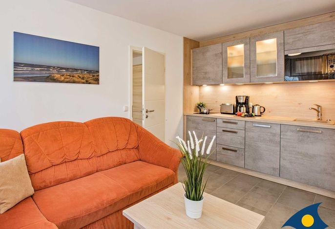 Wohnzimmer inkl. Küchenzeile