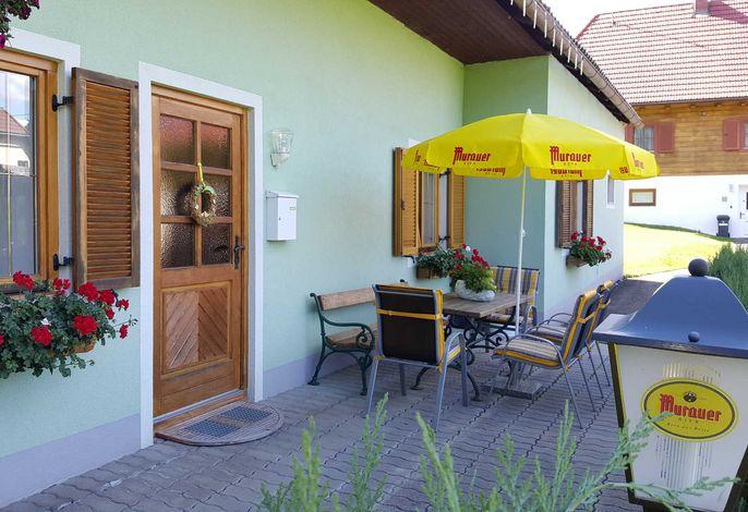 Ferienhaus Findling Sommer
