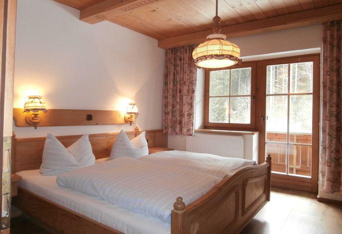 ein Schlafzimmer in  Große Ferienwohnung