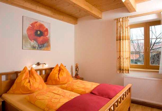 Schlafzimmer 1, Doppelbett 180x200
