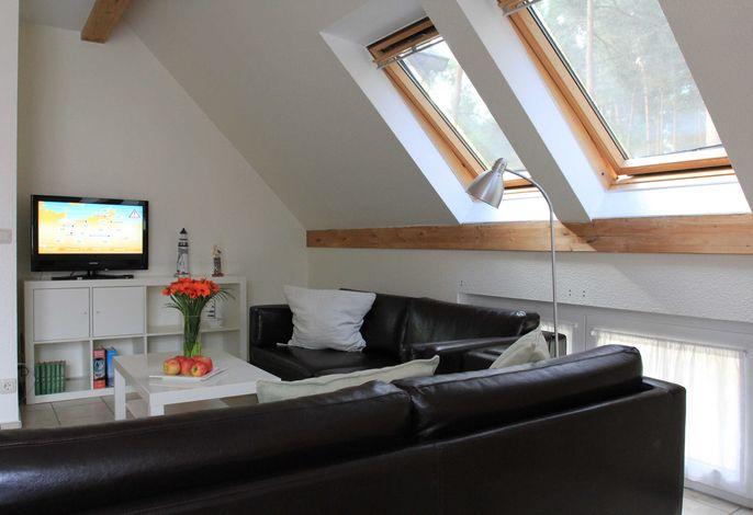 Sitzecke mit Smart TV