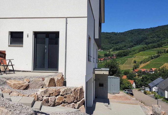 Zimmer Terrasse mit Ausblick