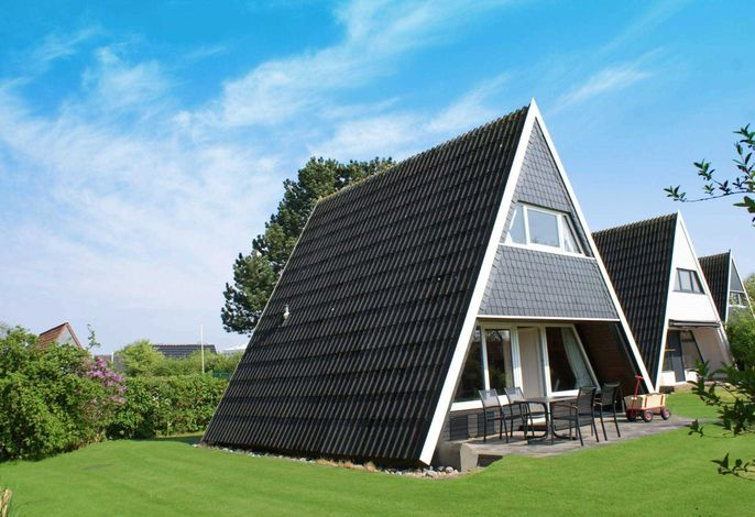 Zeltdachhaus in Strandnähe mit W-LAN