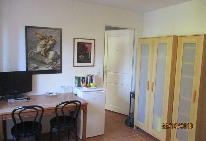 Seezimmer: Doppelzimmer mit Doppelbett