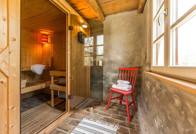 Behaglicher Josephinenhof, Sauna, Kamin