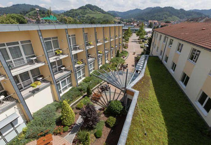 Innenhof / Terrasse Schwarzwaldhotel Gengenbach