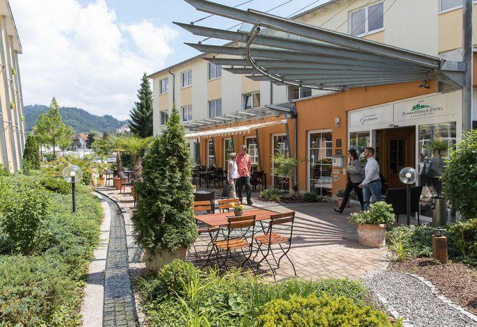 Innenhof / Hoteleingang Schwarzwaldhotel Gengenbach