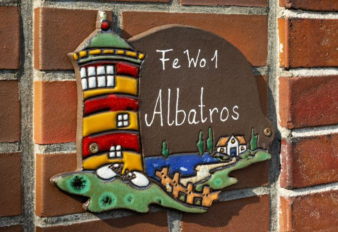 Herzlich Willkommen in Ihrem Ferienhaus Albatros