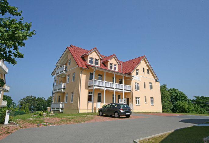 MI: Villa Bergfrieden Whg. 05 mit Balkon und Meerblick